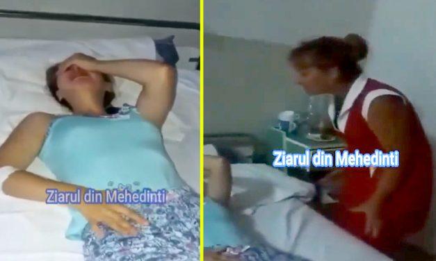 """VIDEO. O asistentă zbiară la o pacientă care plânge: """"Vrei să te omor eu?!"""""""