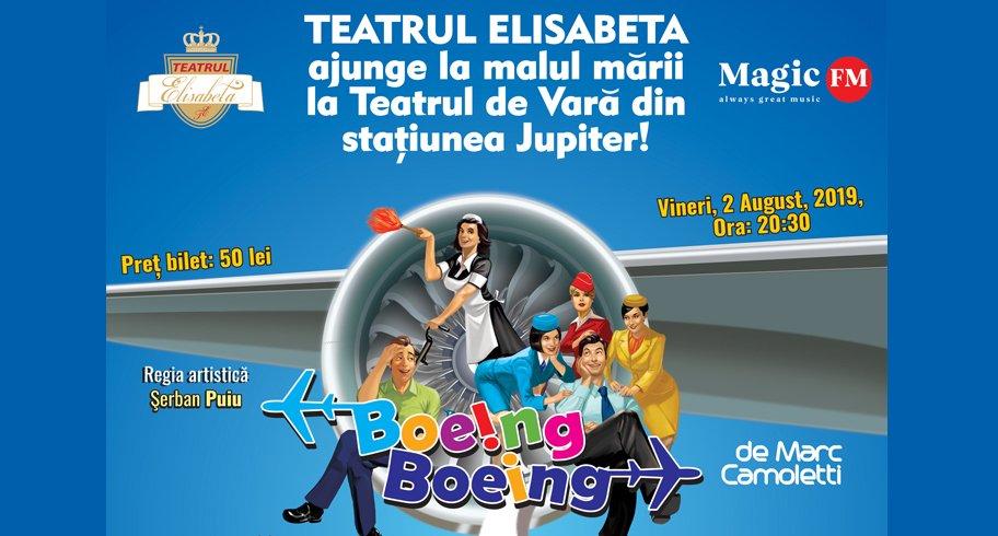 """Comedie de excepție, la Teatrul de Vară Jupiter: """"Boeing Boeing"""""""