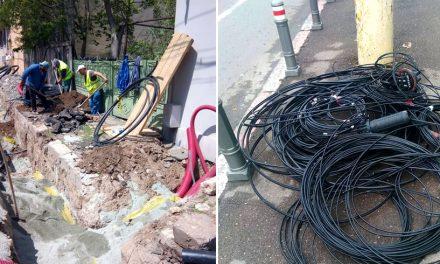 Primăria anunță că dispar cablurile aeriene de pe bulevardul Mamaia