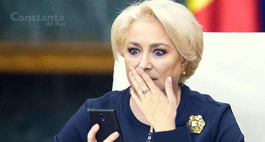 Dăncilă, hărțuită cu mesaje de un individ care îi dă teste și pe care îl cheamă Imărgensi Ălerts