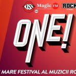 ONE!, un nou festival de anvergură la Constanța. Peste 40 de artiști vor cânta în 12 seri pe scena din Piața Ovidiu