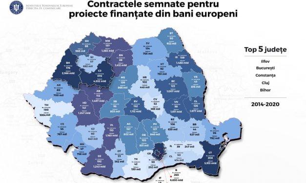 Primăria Constanța se laudă pe Facebook că a bătut Clujul și Oradea la fonduri europene. În realitate… ZERO