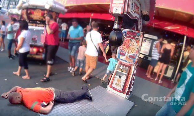 Scandal în Satul de Vacanță, după ce un interlop a fost bătut crunt de sacul de box cu fise