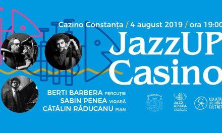 Concert inedit de jazz în Cazinoul din Constanța, cu Berti Barbera, Sabin Penea și Cătălin Răducanu