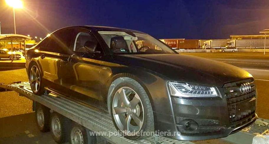 Un român a ajuns la vamă cu o mașină de 70.000 de euro și a rămas fără ea