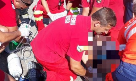 Un turist a murit înecat în mare la Saturn. A ignorat steagul roșu arborat de salvamari
