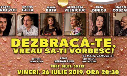 Spectacole inedite în stațiunea Jupiter, cu Teatrul Elisabeta din București