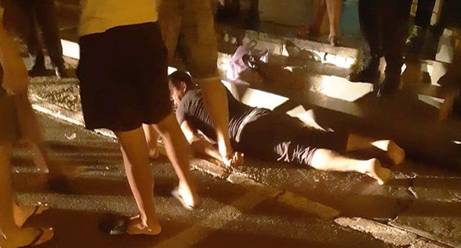 """Bărbat reținut de civili după o tentativă de viol într-o stație din Constanța. """"Poliția nu vine decât dacă sunt dovezi concrete"""""""