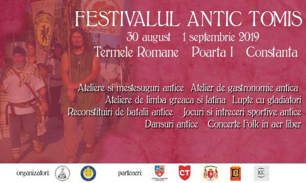 Festivalul Antic Tomis, la cea de-a VIII-a ediție. Programul complet al evenimentului
