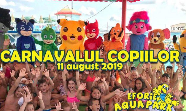 """""""Carnavalul copiilor"""" și petreceri cu spumă galbenă, la Eforie Aqua Park"""