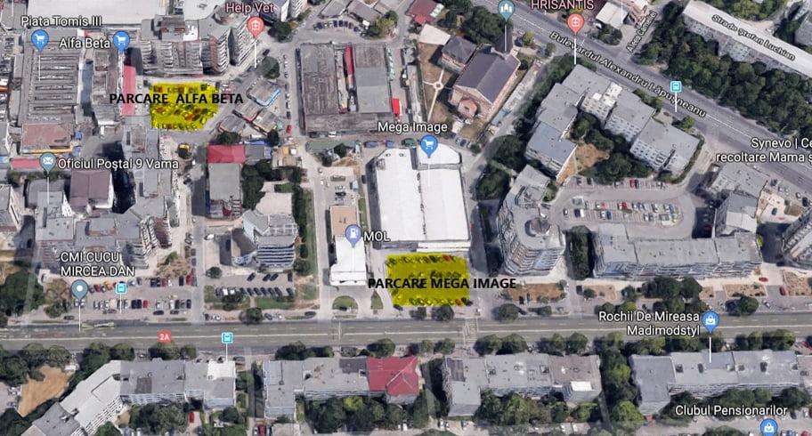 Noi parcări cu plată în Constanța și program de taxare modificat la unele parcări cu tarif orar