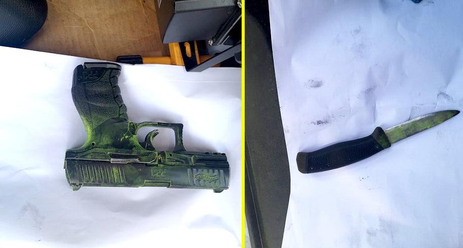 Bărbat din Constanța, amenințat cu un pistol și un cuțit de doi tineri care i-au furat mașina