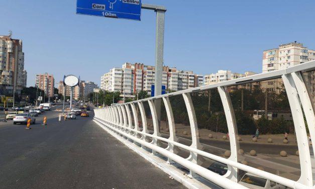 Podul de la Butelii se redeschide pe jumătatea reabilitată, dar se închide cealaltă parte
