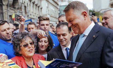 Iohannis, la depunerea candidaturii: Este nevoie de o muncă imensă pentru a repara tot ce a stricat PSD în acești aproape trei ani