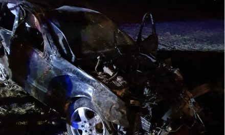 GALERIE FOTO. Accident rutier grav: conduși spre moarte de un șofer fără permis,  cu o mașină neînmatriculată