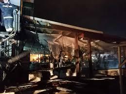 Incendiu la hotelul Laguna din Mamaia. Zeci de turişti au fost evacuaţi
