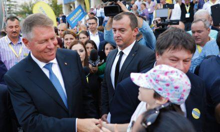 """Iohannis la Constanța. """"PSD rămâne un pericol pentru România, producând cea mai dezastruoasă guvernare din ultimii 30 de ani."""""""