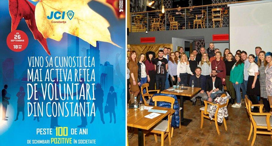 JCI Constanța mărește echipa! Vino să cunoști cea mai activă organizație de voluntari