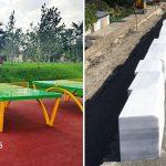 La Negru Vodă, primarul a construit un parc nou, de 15.000 mp. La Constanța, se pun borduri din marmură
