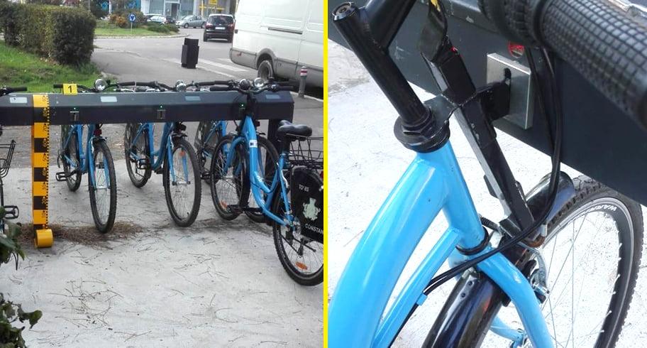 Biciclete din sistemul de bike-sharing al Constanței, furate după ce a fost tăiat sistemul anti-furt