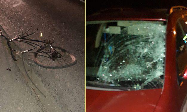 VIDEO. Biciclist lovit de două mașini în Eforie Sud. Bărbatul a murit pe loc