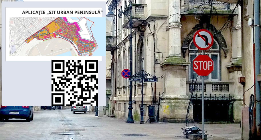 Clădirile din centrul istoric al Constanței, incluse într-o hartă interactivă din aplicația SIT URBAN