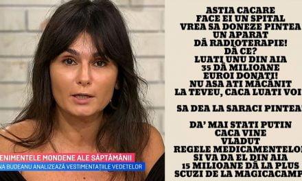 """Dana Budeanu """"zboară"""" de la PRO TV. Postul a anunțat că renunță la colaborare"""