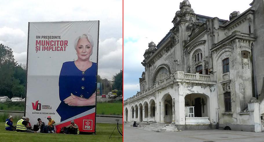 Uite Cazinoul, nu e Cazinoul! După ce Dăncilă anunța că va fi semnat contractul de reabilitare, o altă firmă a depus contestație