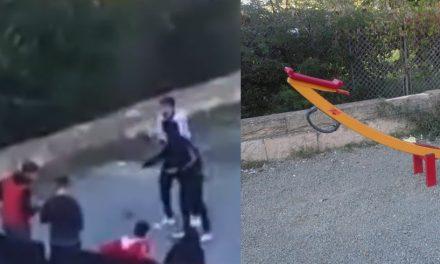 VIDEO. Puști filmați în timp ce vandalizau un loc de joacă din Constanța