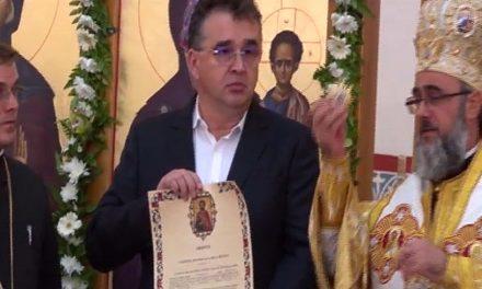 VIDEO. Oprișan și greii PSD Vrancea, decorați de Biserica Ortodoxă Română