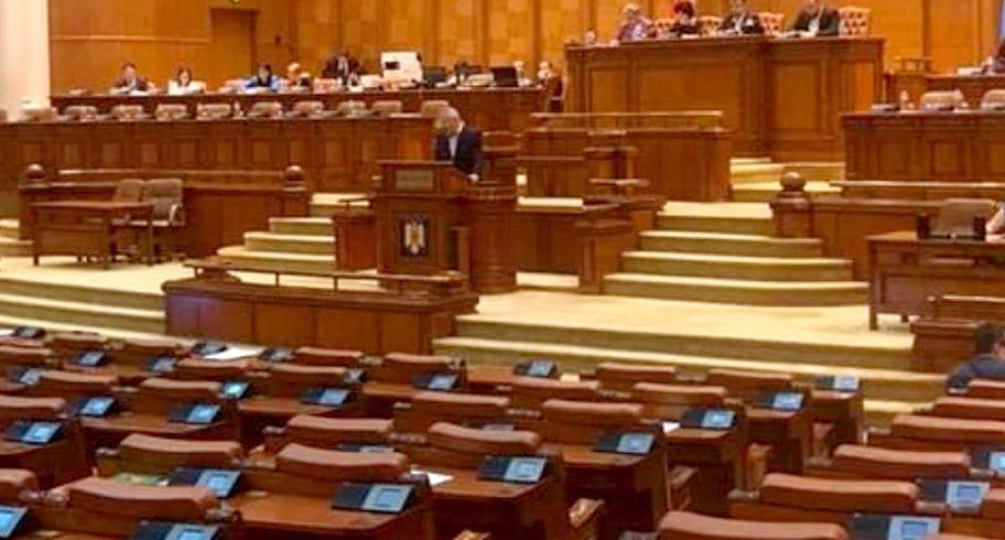 Votarea moțiunii USR-PLUS, amânată după decizia CCR. Astăzi doar se citește în plen