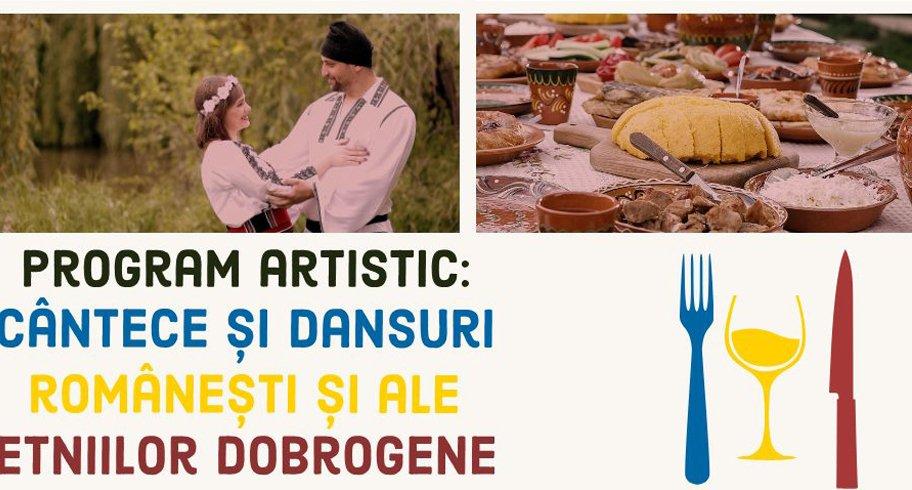 Festival culinar în Piața Ovidiu. Sărbătoarea Gastronomiei și Vinului Românesc