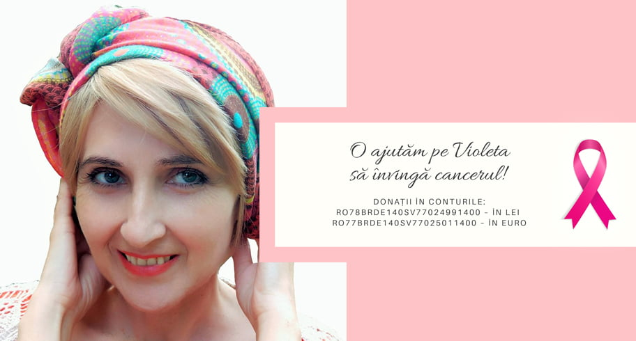 Violeta, o mamă din Constanța, are nevoie de ajutor pentru a învinge cancerul