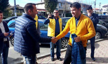 Liberalii din Ovidiu au transmis mesajul de campanie al președintelui Klaus Iohannis