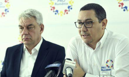Victor Ponta îl atacă dur pe Tudose pentru că a negociat cu PNL