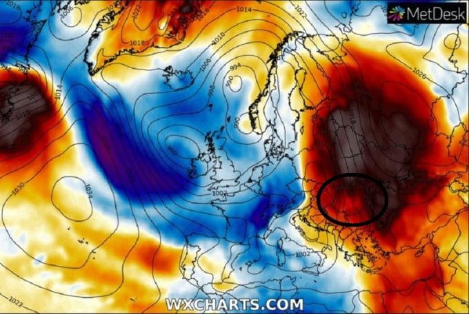 """Meteorologii anunță că """"o anomalie meteo va afecta România"""" săptămâna aceasta"""