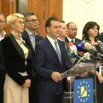 Guvernul Orban a fost demis. Moțiunea de cenzură a PSD a trecut cu 261 de voturi