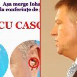 Fake news marca PSD: Iohannis a avut cască la conferință. Imaginile demonstrează contrariul