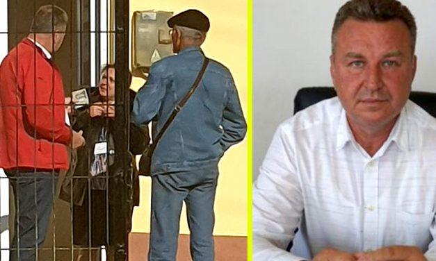 Dosar de urmărire penală în cazul primarului care i-a dat bani președintei unei secții de votare