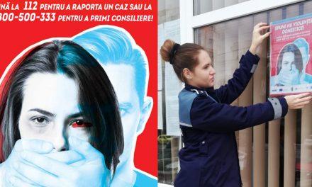 Polițiștii români, implicați într-o campanie internațională de prevenire a violenței domestice