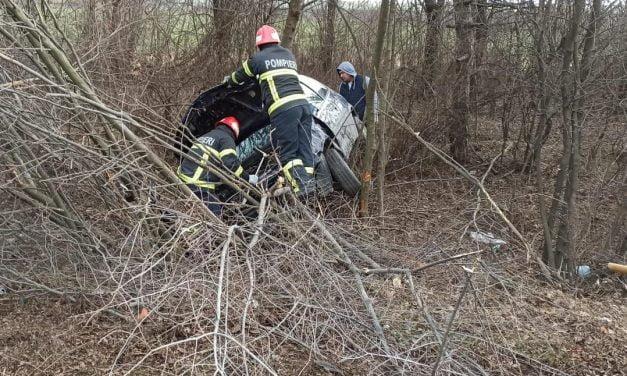 Accident între Constanța și Lazu, cu 2 victime. Un șofer de 74 de ani a pierdut controlul volanului