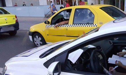 Taximetrist din Constanța, amendat după ce a refuzat să ia un client