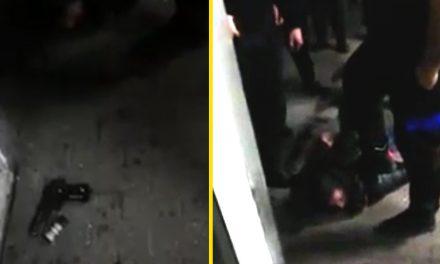 VIDEO. Un bărbat i-a amenințat cu pistolul pe medicii de la Pediatria Spitalului Județean