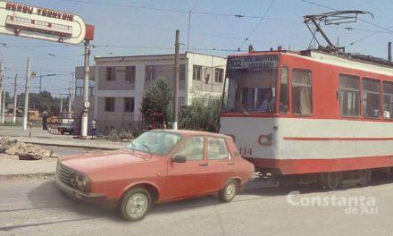 Constanța, anul 1991. Dovada primului cocalar din România, pe linia 102