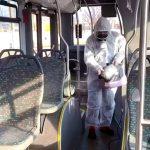 Dezinfecții în autobuzele CT BUS, pentru a reduce riscul îmbolnăvirilor