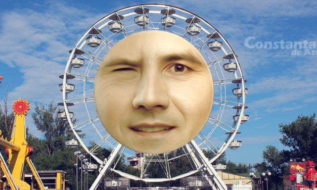 """Roata ca la Londra din Constanța se va numi """"Ochiu' lui Făgădău"""" și va fi adusă din Satul de Vacanță"""