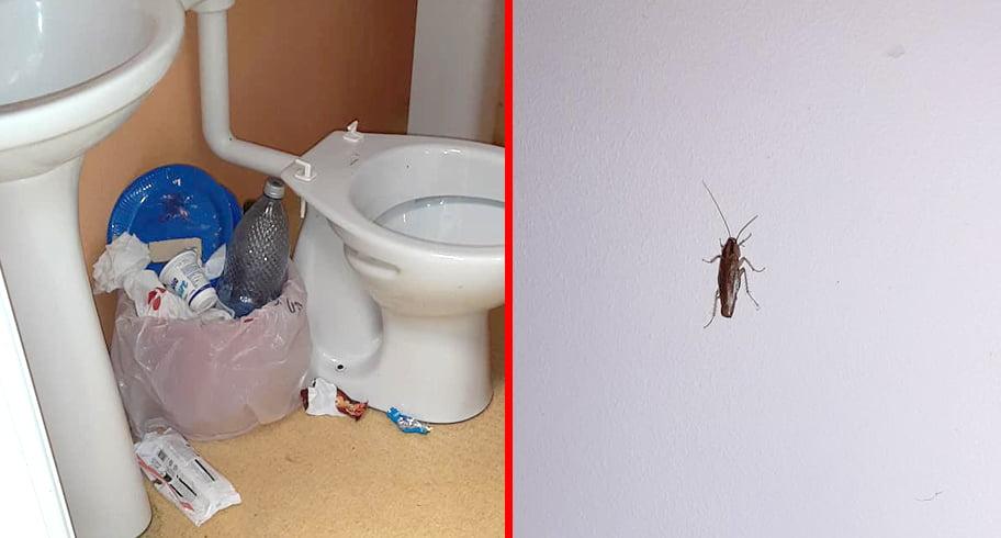 """FOTO. Imagini revoltătoare din Pediatria Spitalului Judeţean Constanţa. """"Gândacii colcăie în saloane, pe pereţi, peste tot!"""""""