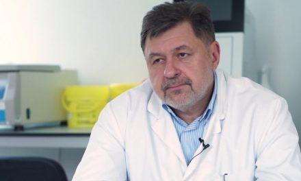"""A. Rafila: """"Ne aflăm în valul doi, virusul SARS-CoV-2 se transmite accelerat. Vom avea 2000 cazuri zilnic"""""""