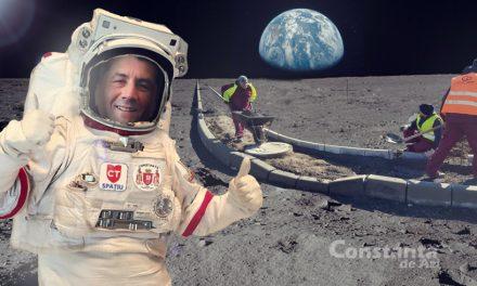 Constanța, primul oraș din țară cu program spațial. Făgădău promite că va monta pavele pe Lună