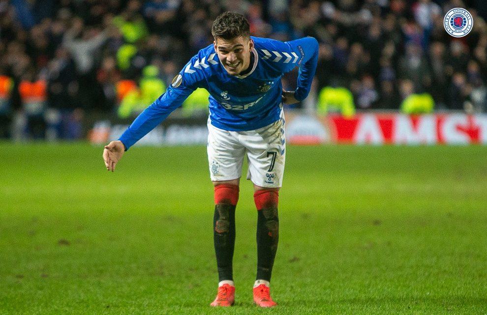 """VIDEO / Ianis Hagi, seară de vis pentru Glasgow Rangers. """"E mai bun decât tatăl său!"""""""